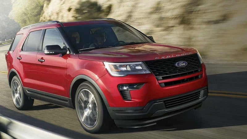 2018 Ford Explorer Suv Ford Dealership Near Watsonville Ca
